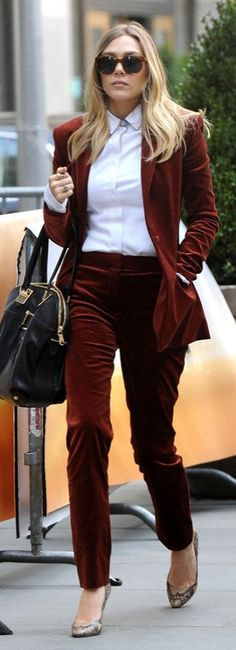 Velvet Blazer! It's the fabric for the holiday season, and it can be worn for so many different occasions! Already have a great velvet pant? Pair your blazer and pants with simple tops to pull off the velvet pant suit without a worry! Festive yet sophisticated for the office!