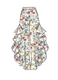 Loose-Fitting Pull-On Pants Culottes Boho Chic Separates Modern Fashion Sportswear McCalls Sewing Pattern Fitness Exercise Mccalls Sewing Patterns, Vintage Sewing Patterns, Dress Patterns, Pattern Sewing, Shirt Patterns, Pattern Drafting, Clothes Patterns, Fashion Design Drawings, Fashion Sketches