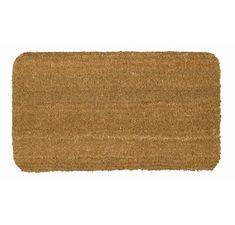 Wayfair Basics Natural Plain Doormat & Reviews | Wayfair.co.uk