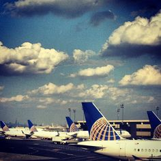 Newark Liberty International Airport (EWR) in Newark, NJ
