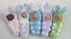 babies in buntings