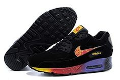 8af1ec0d6295 Nike Air Max 90 Menss Shoes Black Purple Mago Red New Coupon  shoes -