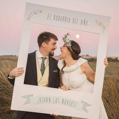 marco polaroid para photocall boda creado por www.lawebdewoo.com/tienda