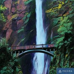 Multnomah Falls 1 hr outside Portland OR