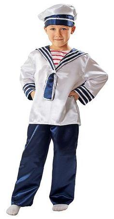 Matrozenpak voor jongens #marine #matroos #matrozenpak #matrozenkostuum