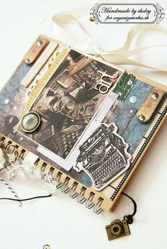 Notebook created by using a new collection Industrial/ Zápisník vytvorený z novej kolekcie Industrial