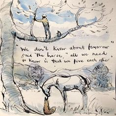 The Boy, the Mole, the Fox and the Horse by Charlie Mackesy Charlie Mackesy, The Mole, Horse Quotes, Horse Art, Beautiful Words, Sketches, Inspirational Quotes, Horses, Thoughts