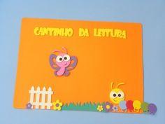 Painel Cantinho da leitura www.petilola.com.br