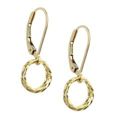 Eclipse Earrings - Gold