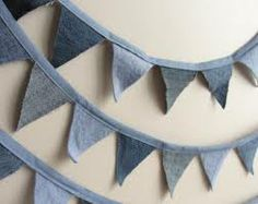 denim bunting - Google Search