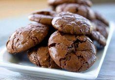 Chocolate souffle cookies