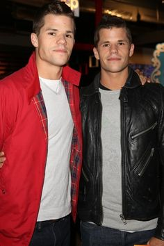 Max and Charlie Carver from Desperate Housewives... and Teen Wolf