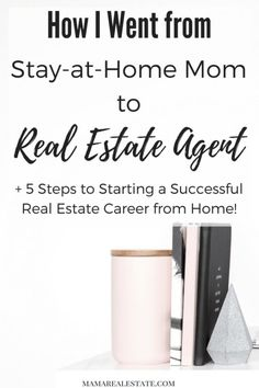 Are you a Stay-at-Home Mom who's considering a career in Real Estate? I was in your shoes once, and I'm here to tell you that it can be done! Read my post to find out how!