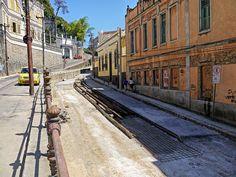 Obras do Bondinho - Santa Teresa - Rio de Janeiro - Brasil