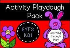 Activity Playdough Pack (EYFS/KS1)
