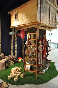 Retail Design, The treehouse , Roskothen Toy Shop