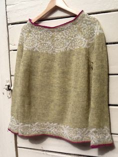 Ravelry: Project Gallery for Akebia Pattern by Kate Gilbert . : Ravelry: Project Gallery for Akebia Pattern by Kate Gilbert Ravelry, Icelandic Sweaters, Poncho, Sweater Knitting Patterns, Lace Knitting, Knitting Socks, Fair Isle Knitting, Crew Neck Shirt, Knitting Projects