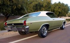 1969 Chevelle SS396 in Frost Green