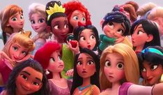 Disney re-did the art for a princess in Wreck-It Ralph 2 after whitewashing criticisms Disney Princess Movies, All Disney Princesses, Disney Princess Cinderella, Disney Princess Pictures, Disney Girls, Disney Movies, Disney Characters, Angel Princess, Disney Pocahontas