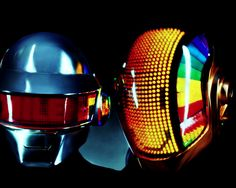 Daft punk helmets! // I know what I'm getting for halloween