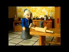 Animación Stop Motion... La vendedora de pan