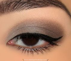 Maybelline Color Tattoo: Tough as Taupe. I am now obsessed with dark taupe shadows and certain browns...