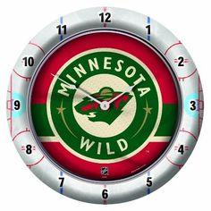 NHL Minnesota Wild Game Time Clock, http://www.amazon.com/dp/B0085Z28EI/ref=cm_sw_r_pi_awdm_EMs3tb1XCSYYM