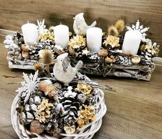 Christmas decoration Christmas Decorations, Table Decorations, Home Decor, Decoration Home, Room Decor, Home Interior Design, Christmas Decor, Dinner Table Decorations, Christmas Tables