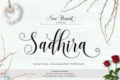 Sadhira Script   30% Off  by Barland on @creativemarket