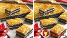 Staromaďarský makový koláč – tromfne aj kysnutý závin: Kto má rád mak, nebude si vedieť vynachváliť, na Veľkú noc nesmie chýbať! Cheesecake, Food And Drink, Bread, Cookies, Sweet, Basket, Crack Crackers, Candy, Cheese Cakes