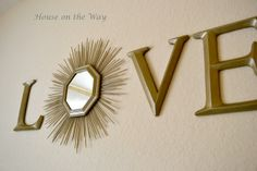 DIY sunburst mirror. Here Comes the Sun…burst Mirror - House on the Way