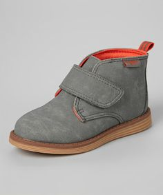 533e75bf48ca Another great find on  zulily! Gray Chase Ankle Boot by OshKosh B gosh