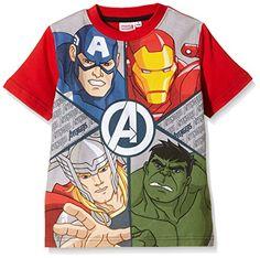 AVENGERS, Camiseta Manga Corta Star Wars - Camiseta para niños #regalo #arte #geek #camiseta