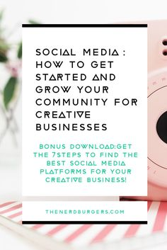 Facebook, Twitter, Instagram, Pinterest, Snapchat, Periscope?! There's just too many social media platforms! How do I keep up?! Do you need clarity on which social media platforms are best for your creative business? Click through to follow the 7 steps to discover which social media platforms are best for your business and get the tips to grow your following and community or save the pin to read later!