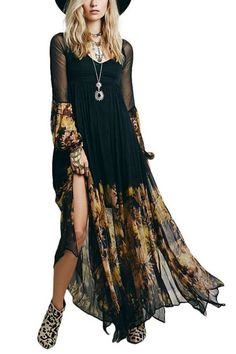 Dream Maxi Dress in Black