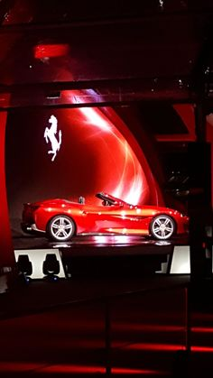 Ferrari portofino launching