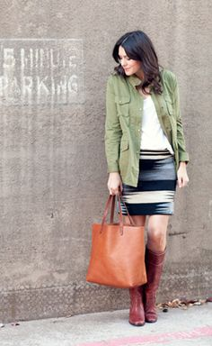 Ways to Wear a Utility Jacket