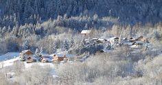 Op wintersport in skigebied Les Bottières in Les Sybelles