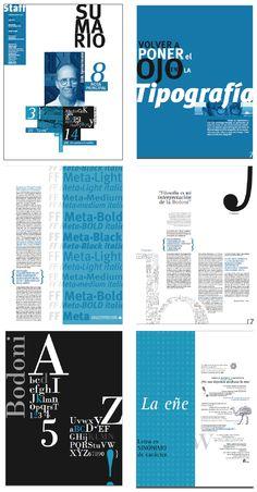 Revista, Tipografía 2 cátedra Gaitto, 2014