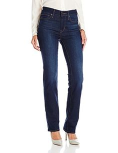Levis Womens Slimming Straight Jean Pacific Street  30 US 10 R ** See this great product. (Note:Amazon affiliate link)
