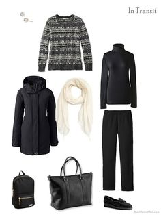 A travel capsule wardrobe with what to pack for Dublin, Ireland in winter Capsule Outfits, Capsule Wardrobe, Travel Outfits, Wardrobe Ideas, Beige Sweater, Hooded Sweater, Ireland In Winter, Travel Capsule, The Vivienne