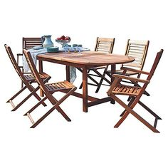 Add a neutral outdoor dining set to your deck or patio for summer feasts al fresco all season long!