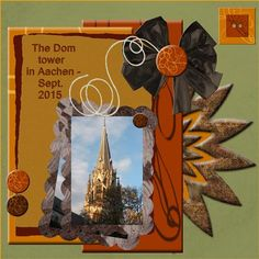 And here my page - Sept. 15 - The Dom tower made by your loving bonus…