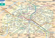 Paris Metro map- http://www.ratp.fr/plan-interactif/carteidf.php?lang=uk