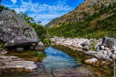 Nature in Gerez, Portugal (river homem peneda geres national park) - a photo by turismoenportugal