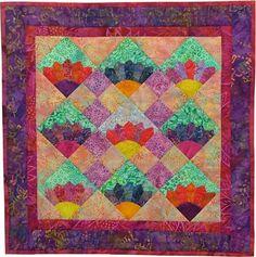 virginia robertson, pattern, Little Fan Quilt