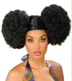 Our Afro Poof Wig is a great wig to complete the look of your Go-Go or Disco costume. Description from caufields.com. I searched for this on bing.com/images