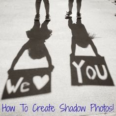 DIY Mother's Day Photo Ideas - Shadow Photos from Kids to Mom Daddy Day, Mom Day, Mother And Father, Mother Day Gifts, Father Sday, Grandparents Day Gifts, Grandparent Gifts, Foto Memory, Easy Homemade Gifts