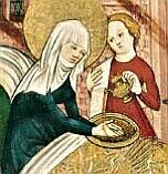 The Birth of the Virgin, c 1430, Anonymous German Artist active in Konstanz
