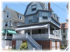 Location: Cape May, Southern Shore Region, New Jersey, USA (Atlantic City 45 miles; Cape May Lewes Ferry 3 miles;) View Map    Accommodations:  House, 5 Bedrooms + Convertible bed(s), 5.5 Baths (Sleeps 14-16)